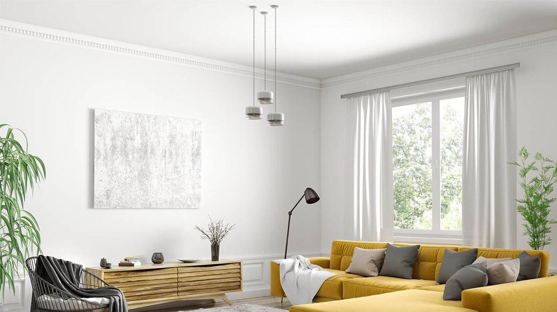 Lampes ou suspensions colorées